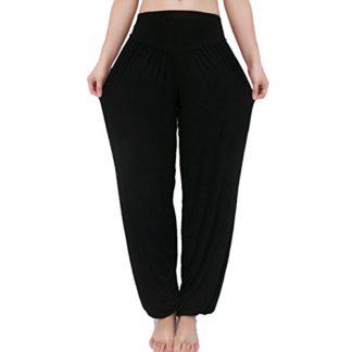 Mujer Sykooria Pantalones De Yoga Para Mujer De Algodon Modal Pantalones Deportivos Harem Mujer De Anchos Sueltos De Cintura Alta Pilates Baile Deportes Y Aire Libre Theaccountant Org Mt