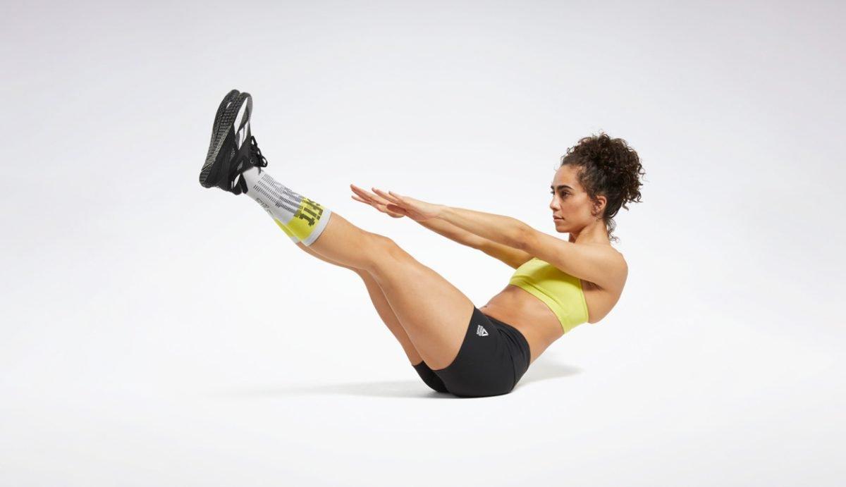 mejores shorts de CrossFit para mujer de la marca Reebok